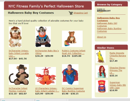 Easy to pick the perfect Halloween costume for your kids!