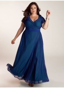 Blue is such a great choice for a stunning  gown fora  formal occasion.