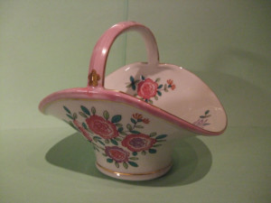 Lord & Taylor Vintage Pink Candy Dish