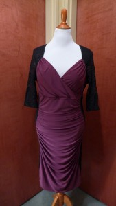 Purple bodycon dress for Mom!