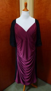 Purple Bodcon dress for Valentine's Day?